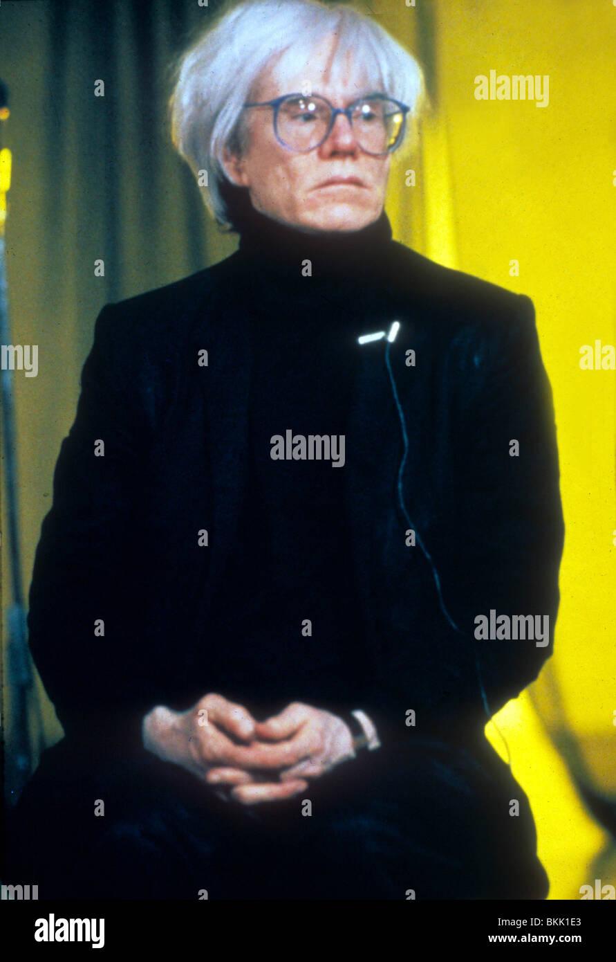ANDY WARHOL PORTRAIT - Stock Image