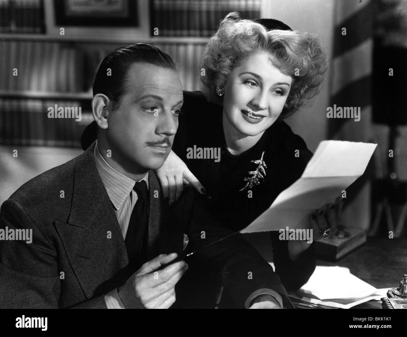 WE WERE DANCING (1942) MELVYN DOUGLAS, NORMA SHEARER WWDG 001P - Stock Image
