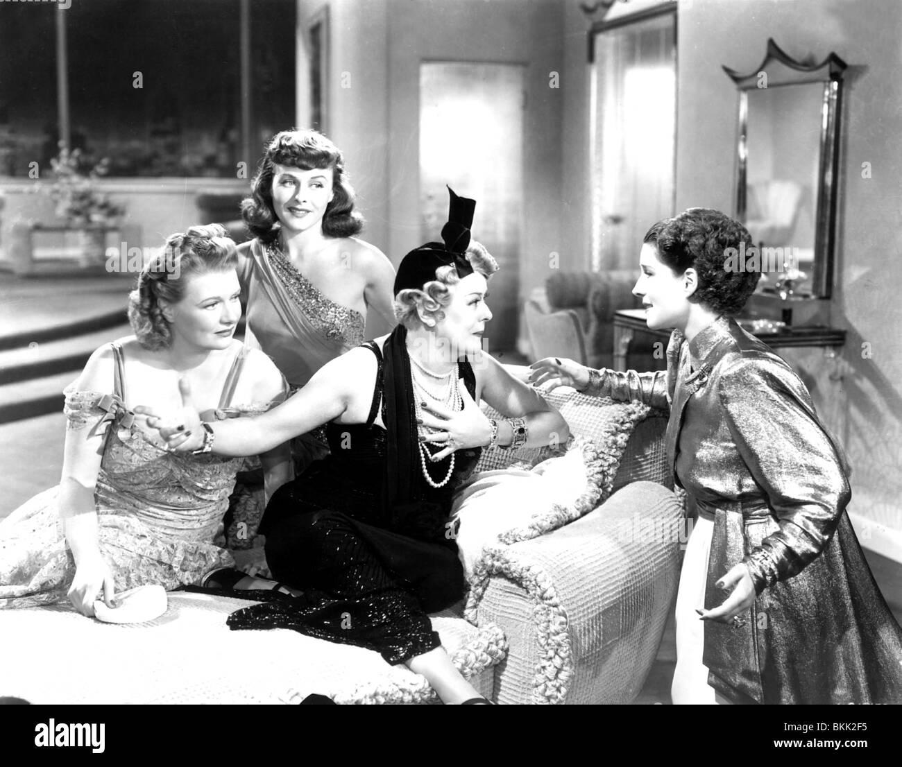 THE WOMEN (1939) PAULETTE GODDARD, NORMA SHEARER WMN 004P - Stock Image