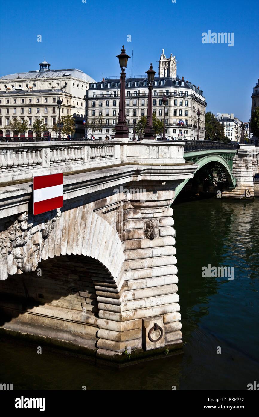 Pont Notre-Dame, Paris, France - Stock Image