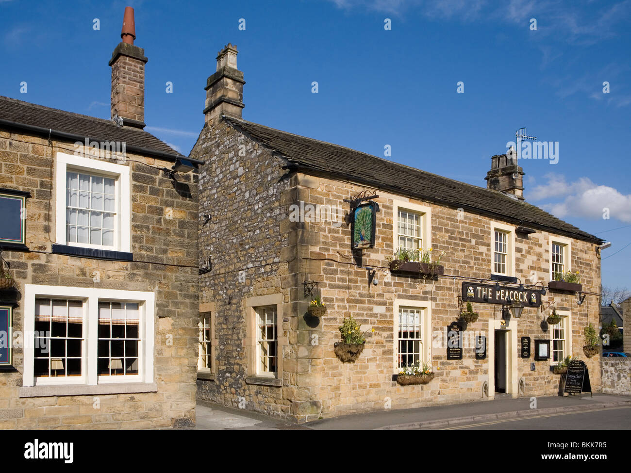 Bakewell, Peak District, Derbyshire, England - Stock Image