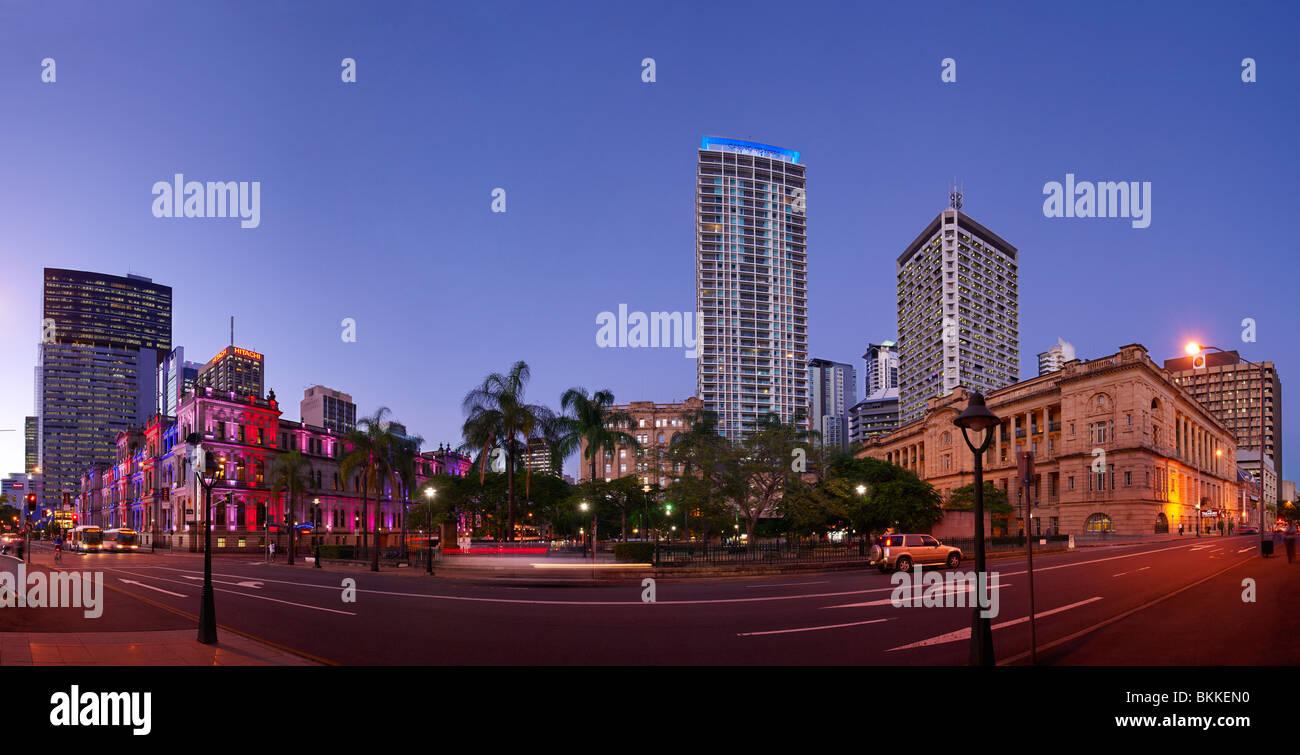 Brisbane CBD - Stock Image