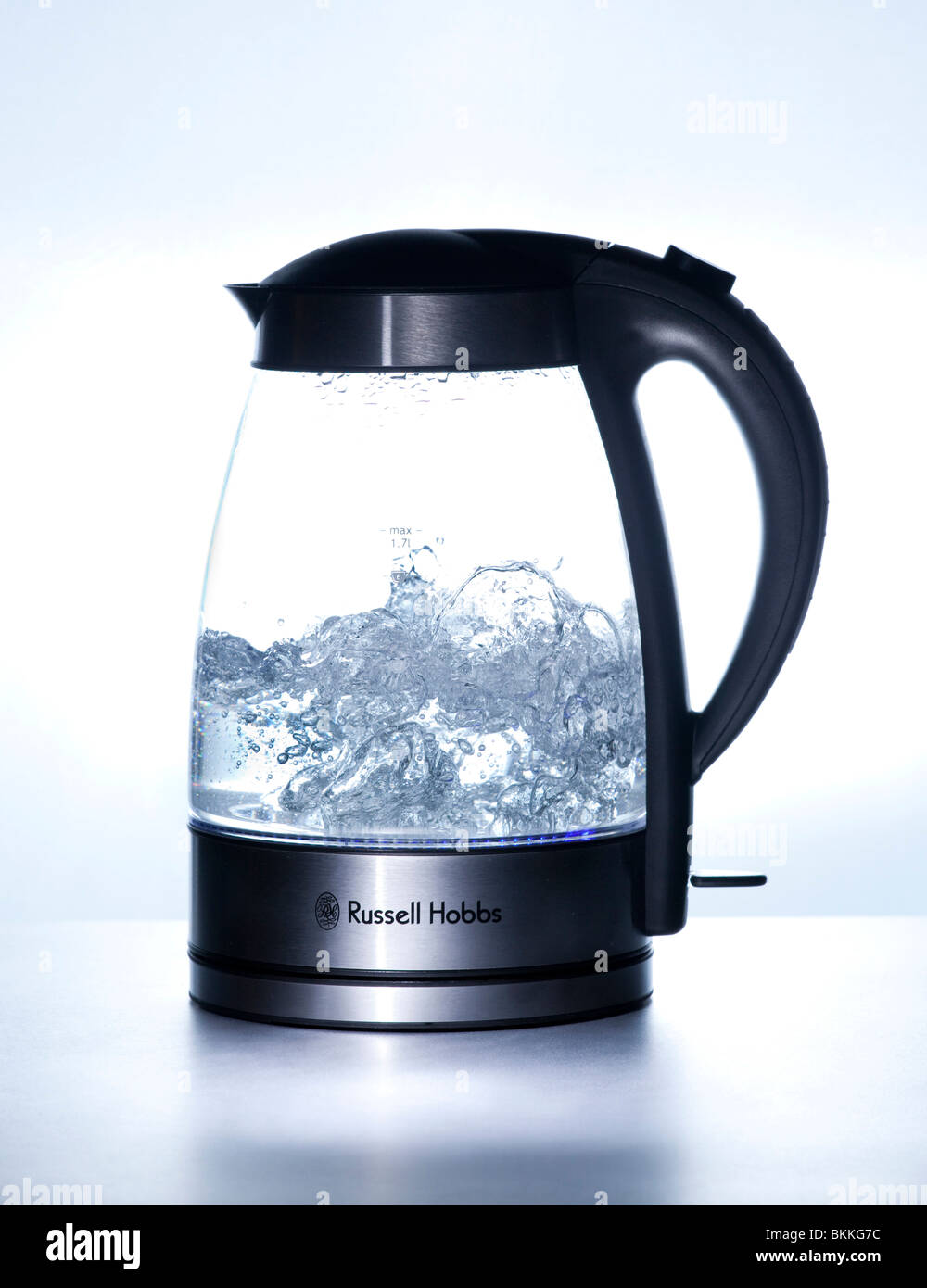 Boiling Water In Glass