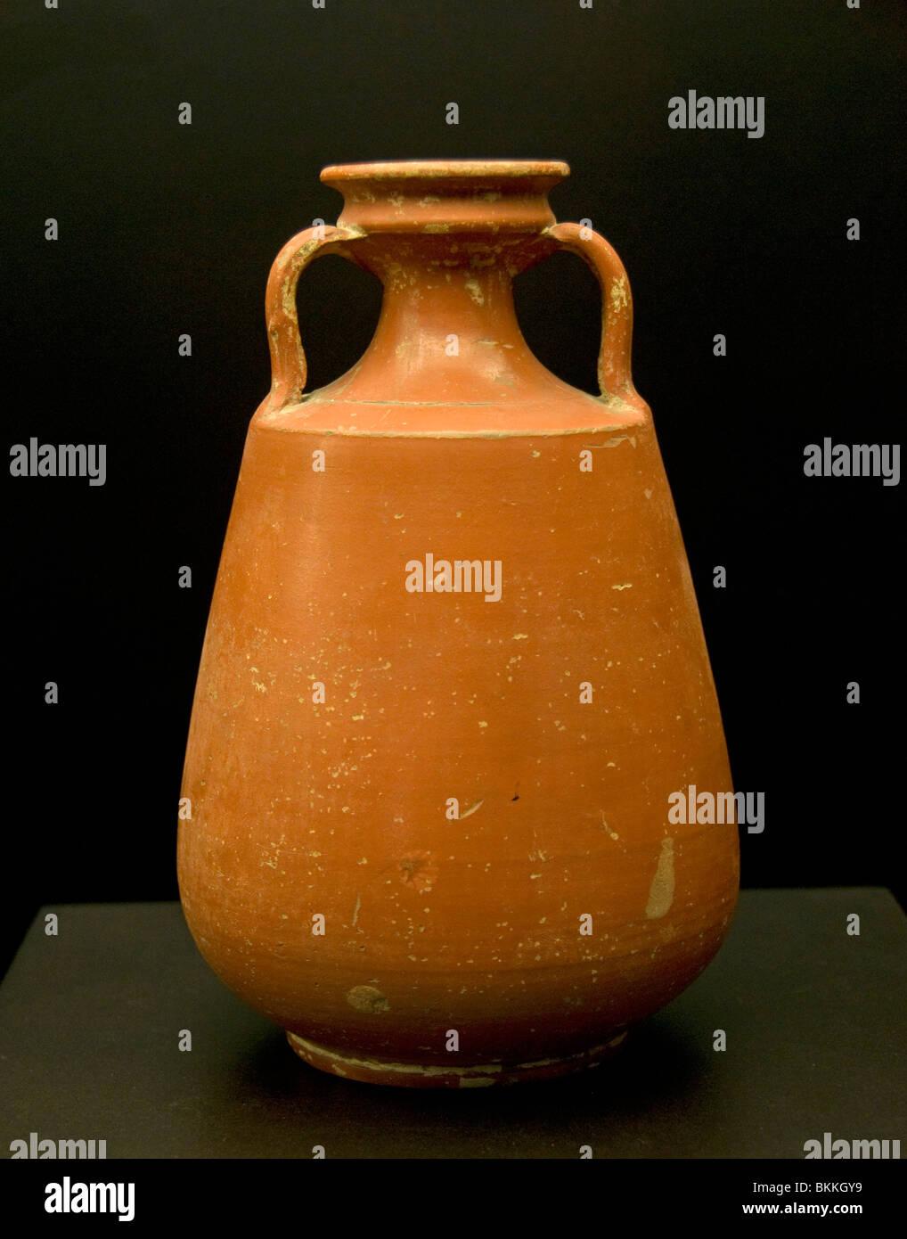 Roman Pottery Italy Italian Rome - Stock Image