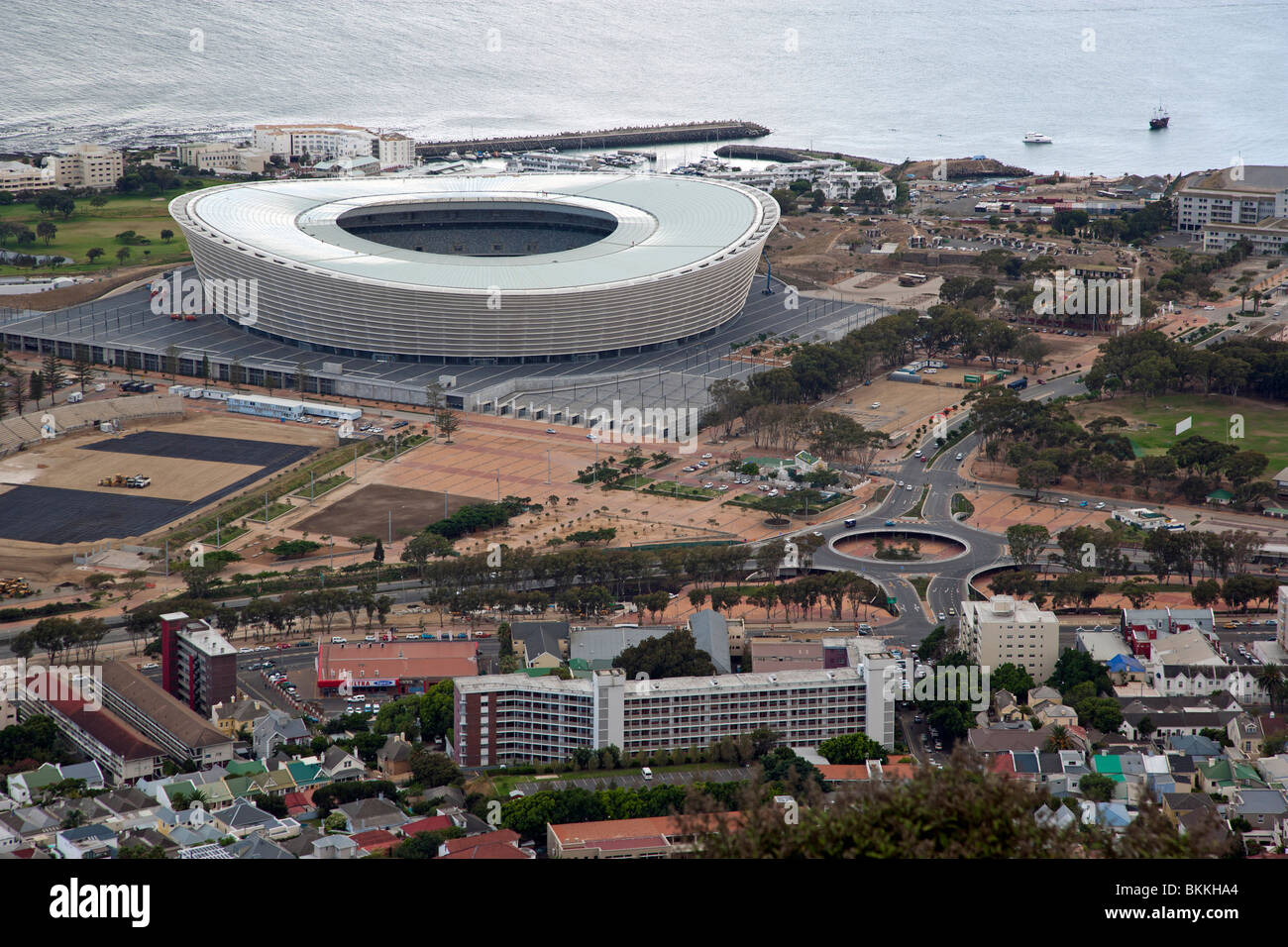 Greenpoint Football Stadium. Cape Town World Cup 2010 - Stock Image