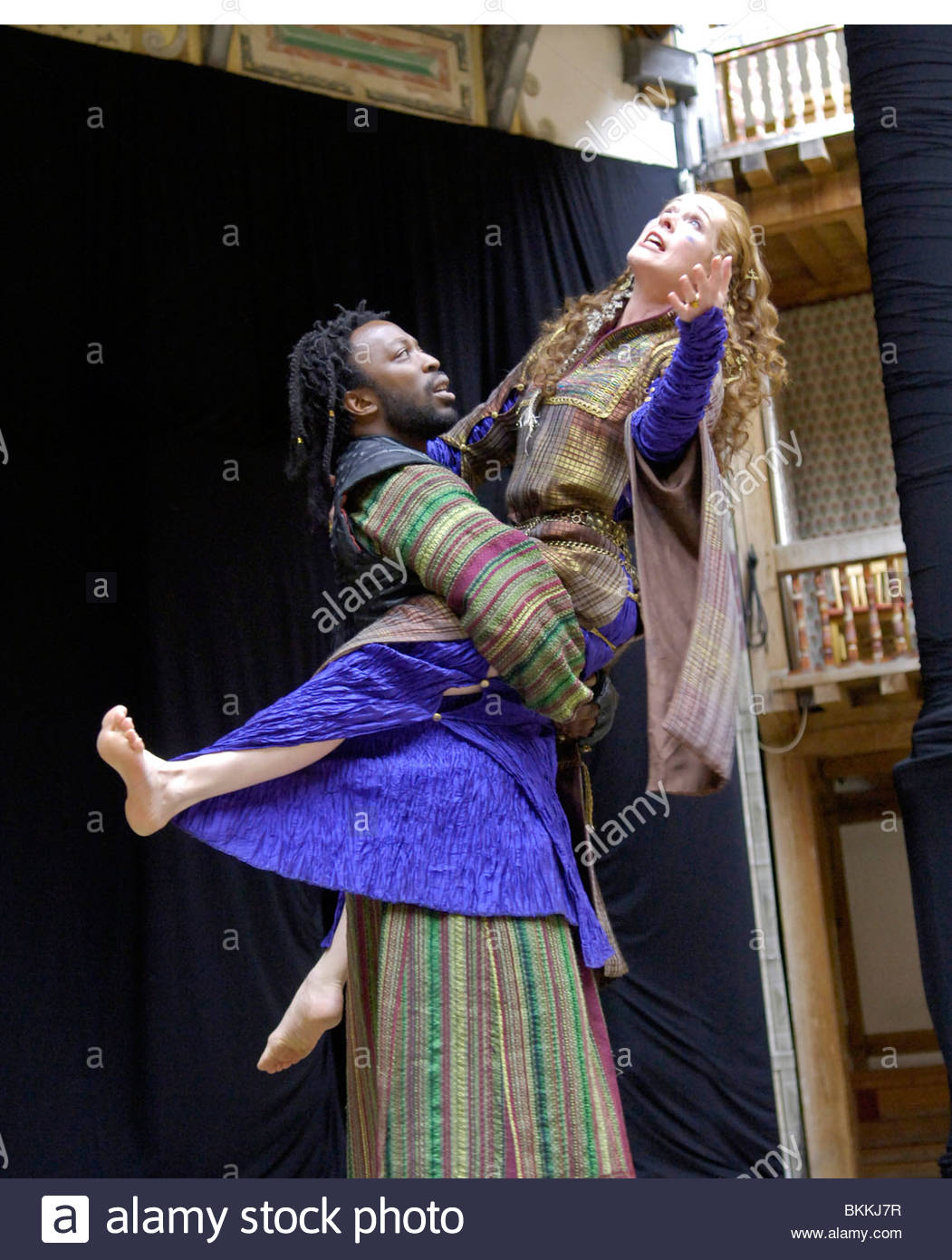 Titus Andronicus by William Shakespeare directed by Lucie Bailey. - Stock Image