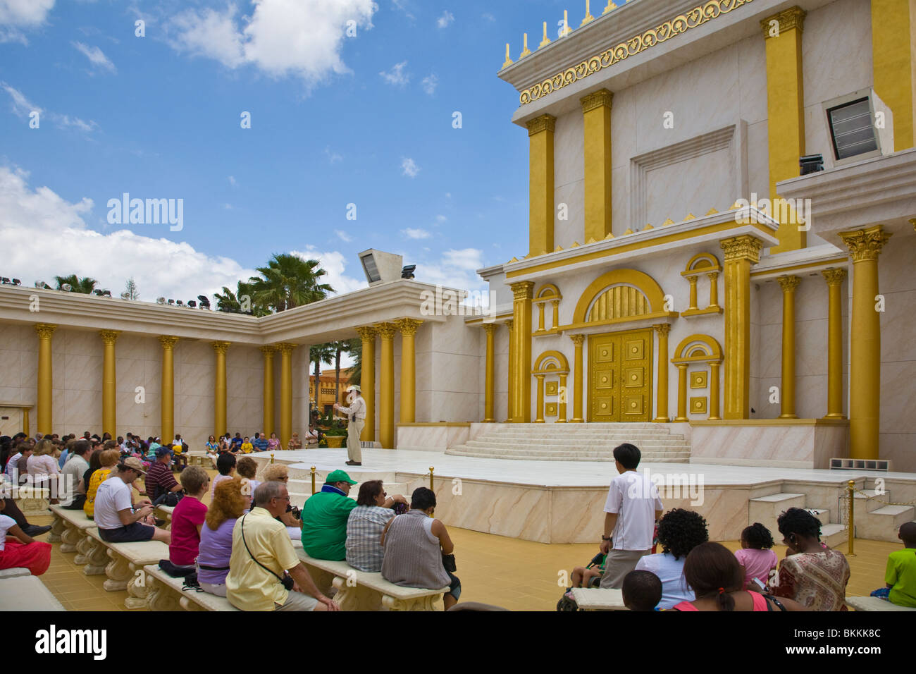 Holy Land Experience attraction in Orlando Florida - Stock Image