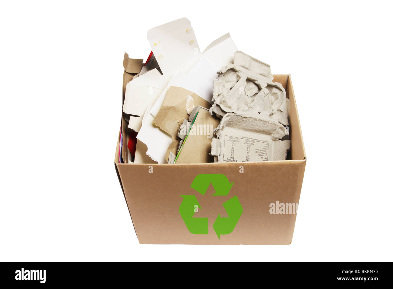 Paper Products for Recycle - Stock Image