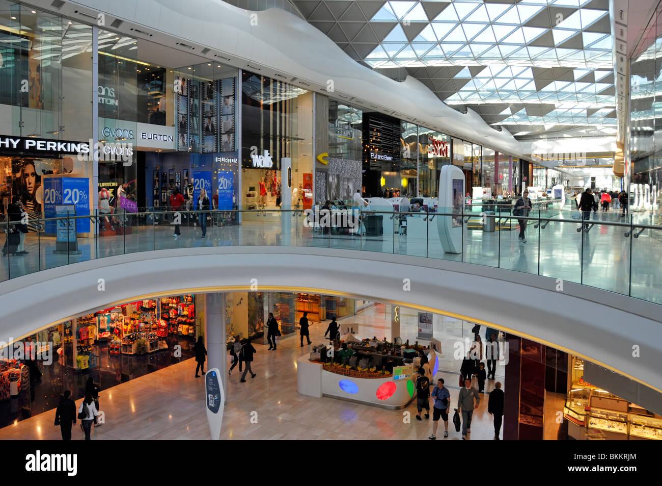 Westfield shopping malls at Shepherds Bush West London - Stock Image