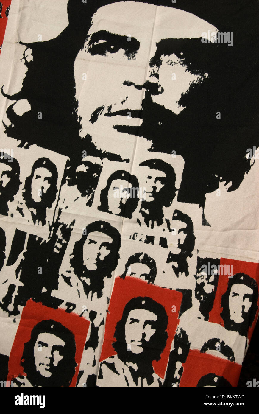 MayDay 2010. Che Guevara poster with multiple images using a photo by Alberto Korda - Stock Image