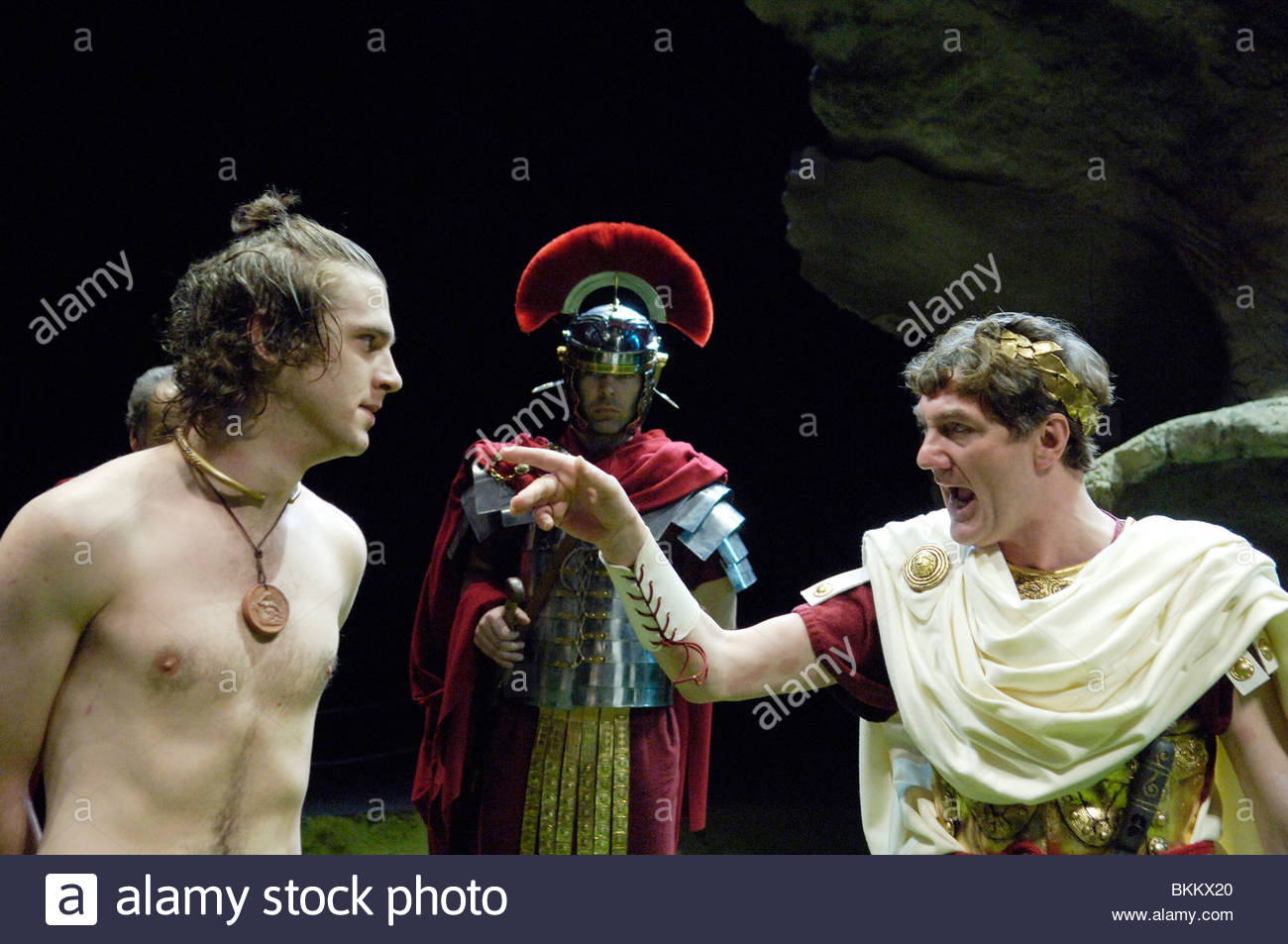 The Romans In Britain by Howard Brenton ,directed by Samuel West. - Stock Image