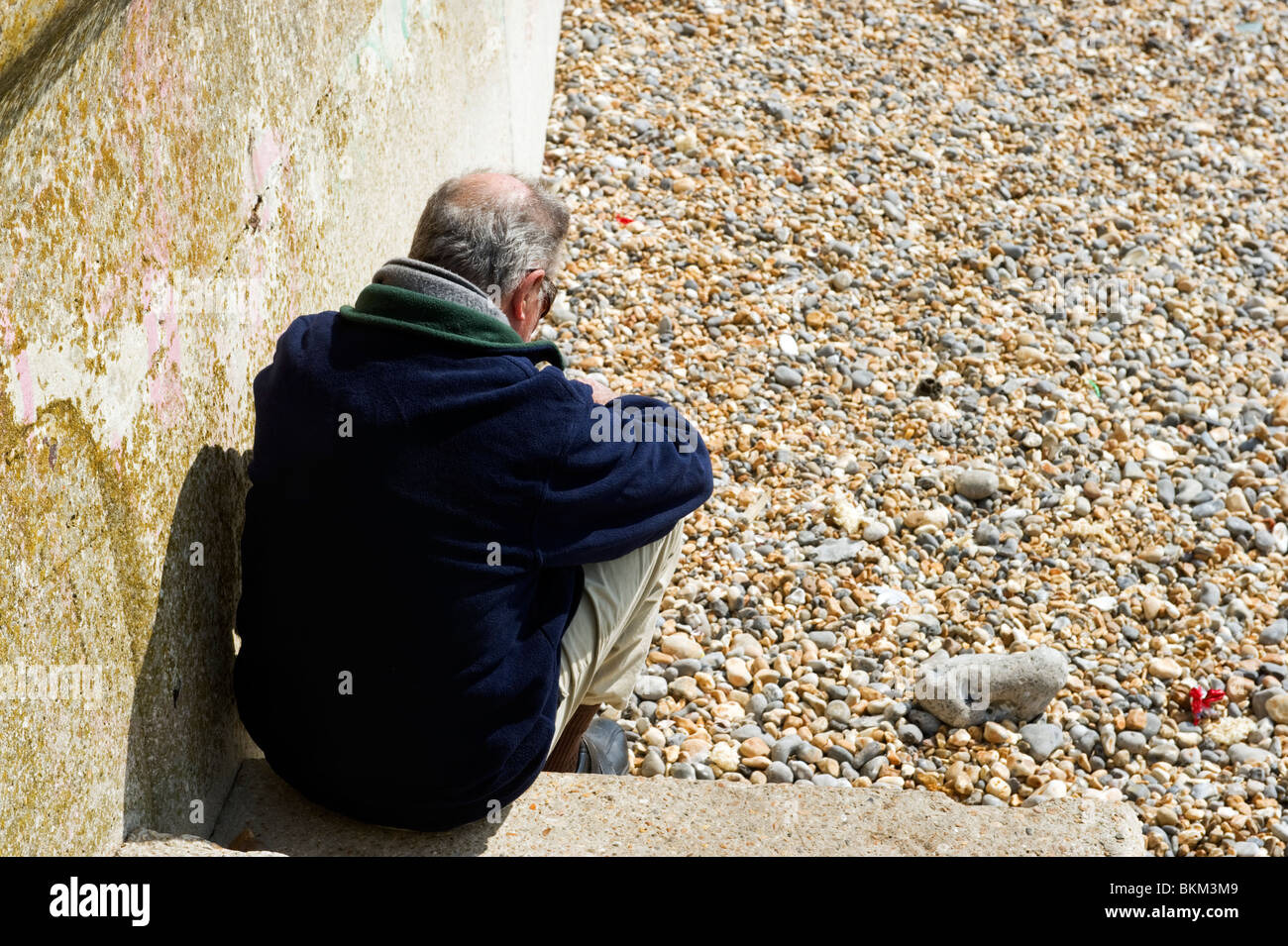 Sitting Hunched Stock Photos Sitting Hunched Stock Images Alamy