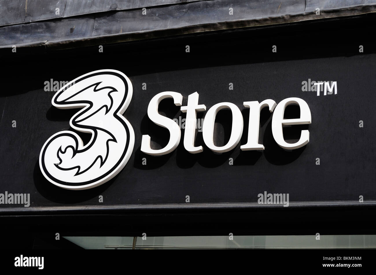 """the """" 3 store """" sign Stock Photo"""