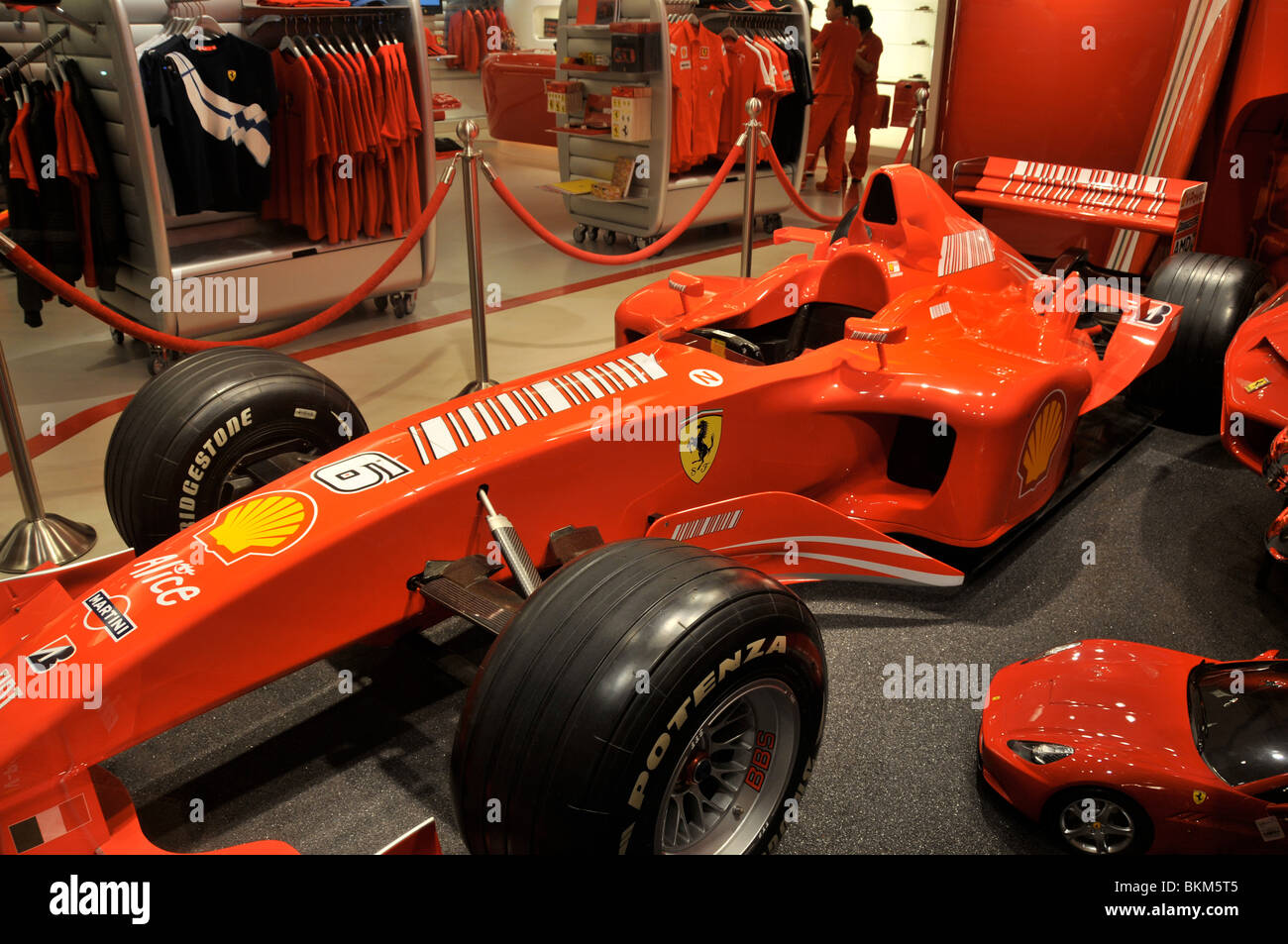 ferrari f1 car in store of wynn hotel casino macau china stock photo 29332469 alamy. Black Bedroom Furniture Sets. Home Design Ideas
