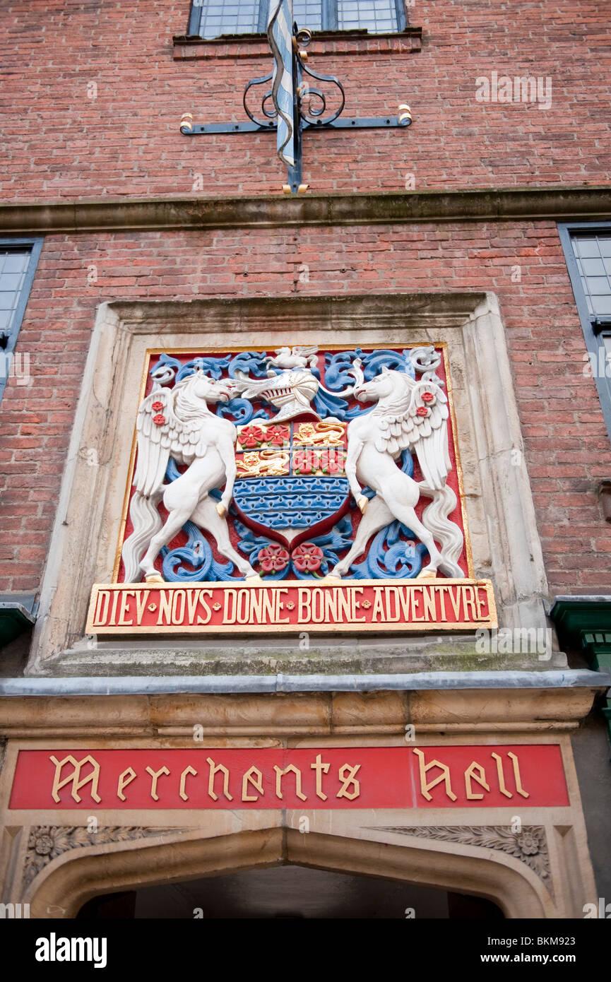 Merchants Hall Fossgate York UK - Stock Image