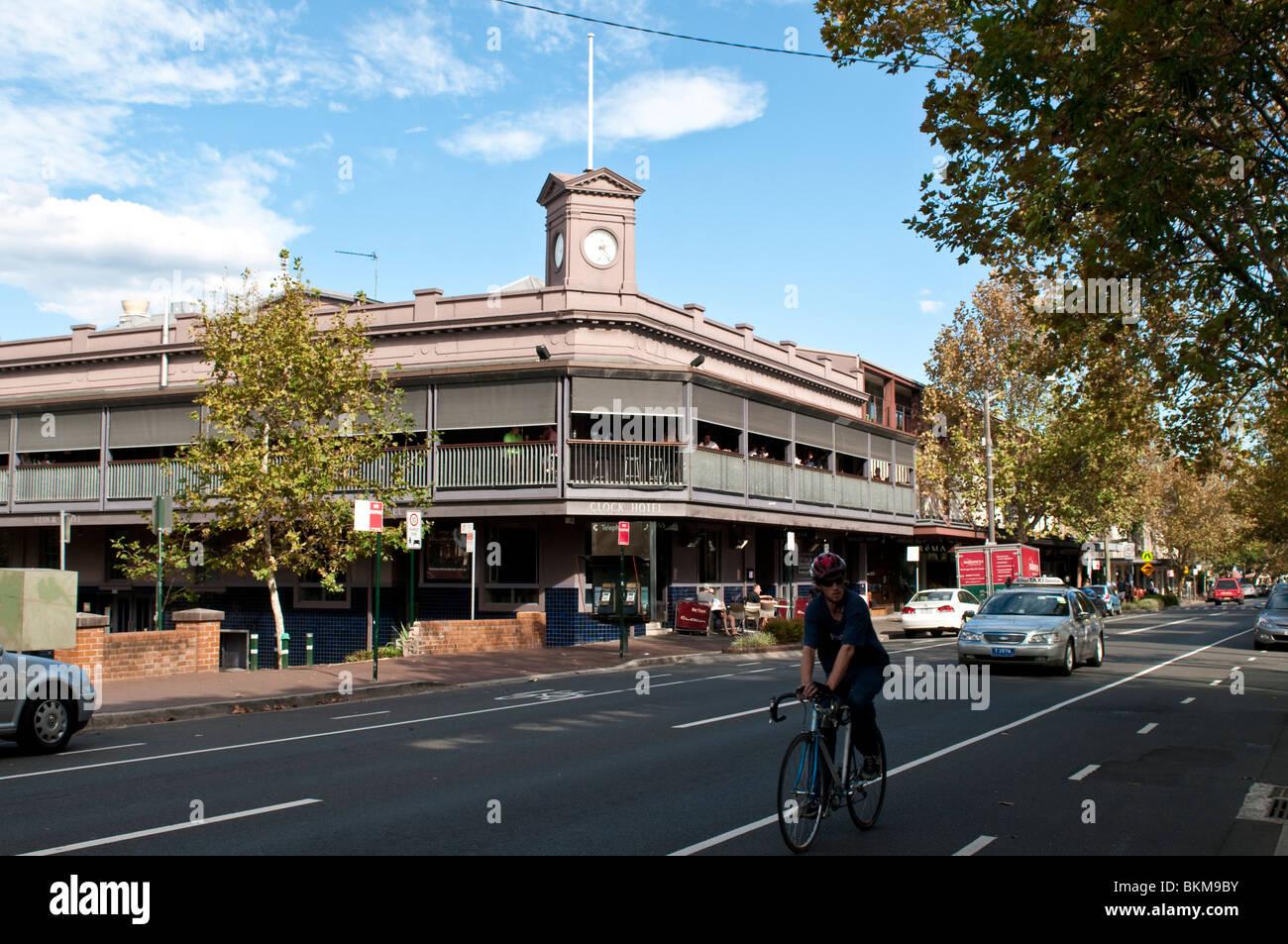 Clock Hotel Crown Street Surry Hills Sydney Australia Stock
