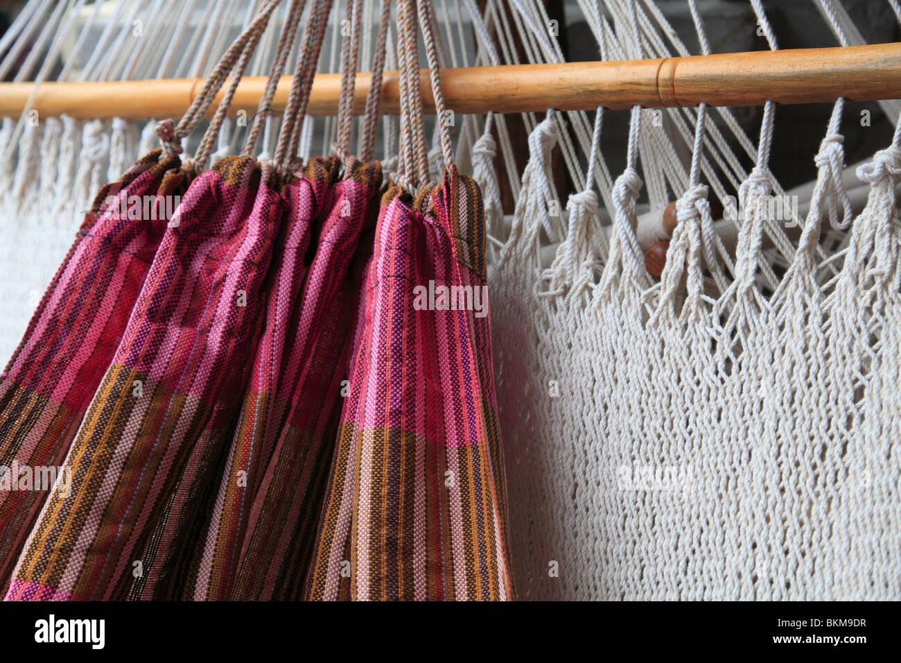 Hammocks, Granada, Nicaragua, Central America - Stock Image