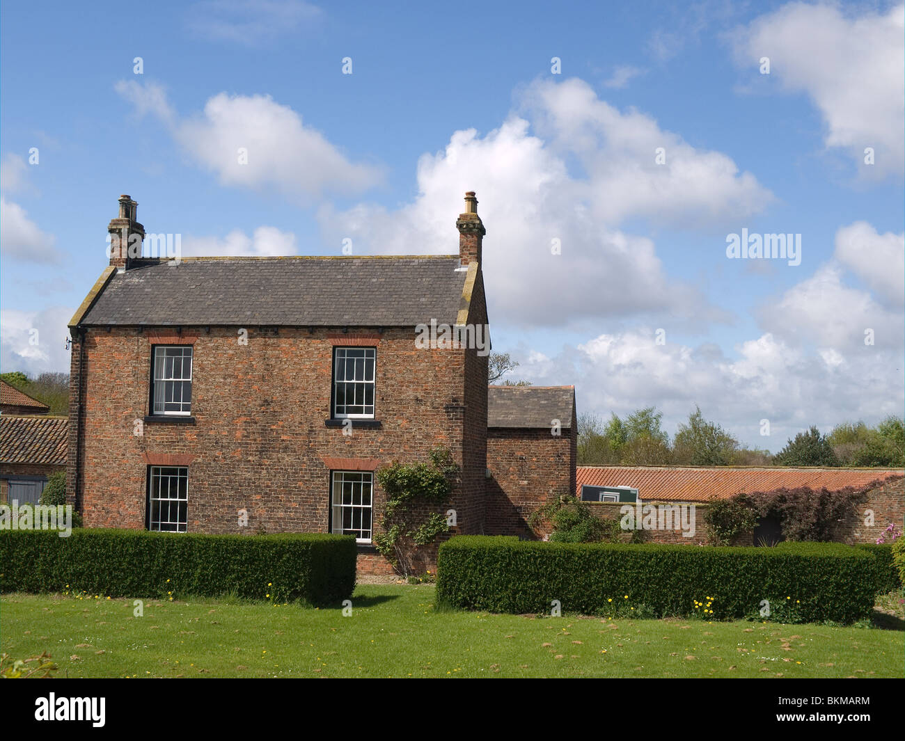 Ormesby Grange Farm a traditional brick farmhouse in a ... - photo#30