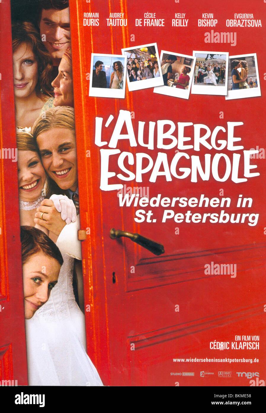 L'AUBERGE ESPAGNOLE (2002) POT LUCK (ALT) POSTER AUBE 001-01 - Stock Image