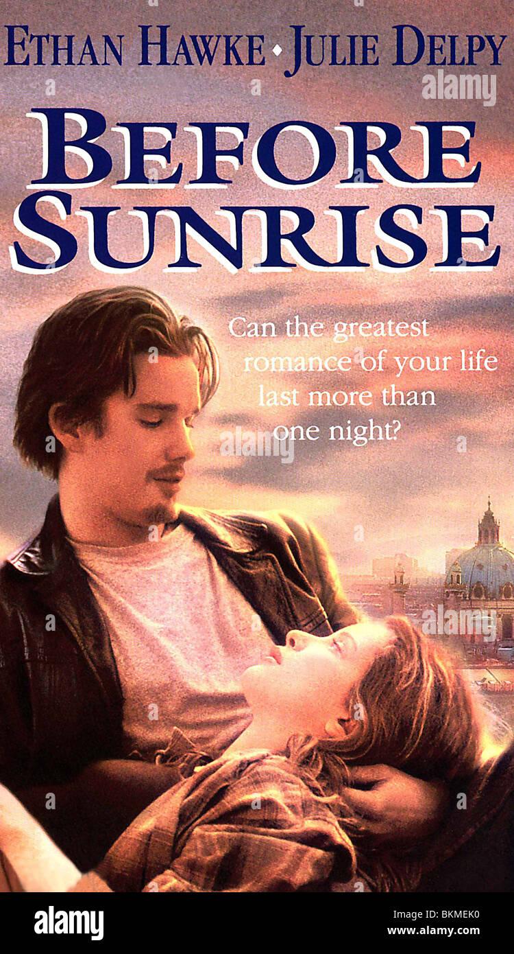 BEFORE SUNRISE -1995 POSTER - Stock Image