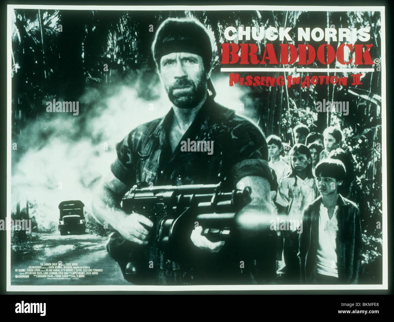 BRADDOCK: MISSING IN ACTION 3 (1988) POSTER BRDK 002