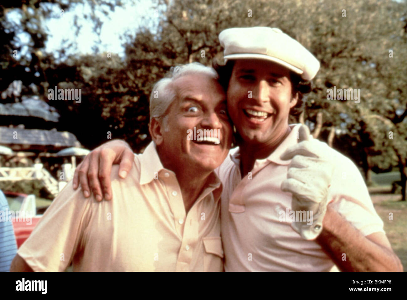 CADDYSHACK (1980) TED KNIGHT, CHEVY CHASE CDS 011 - Stock Image