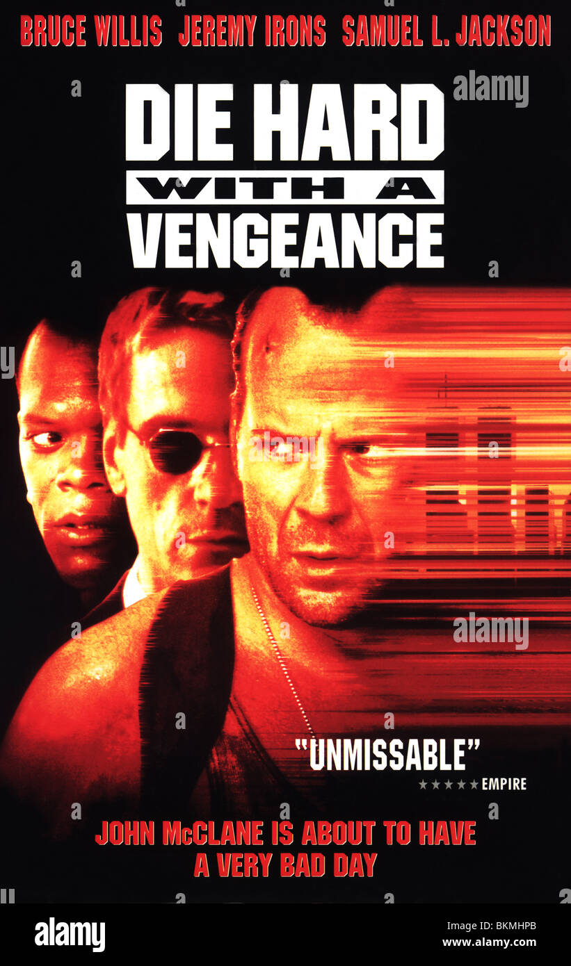 Die Hard With A Vengeance 1995 Die Hard 3 Alt Poster Dhd3 001vs Stock Photo Alamy