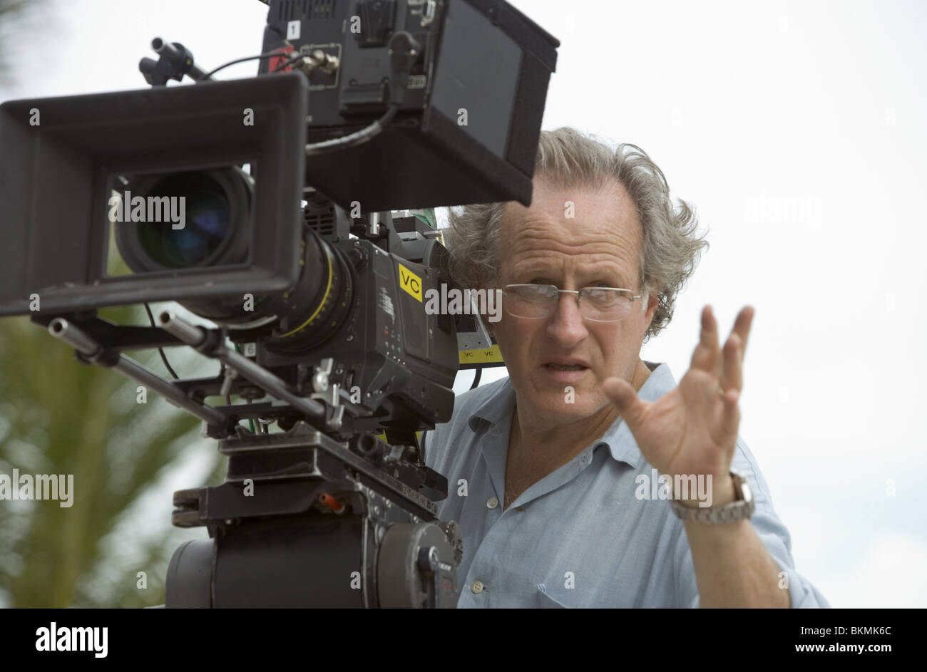 ON SET (ALT) FILMING (ALT) BEHIND THE SCENES (ALT) O/S 'MIAMI VICE' (2006) WITH MICHAEL MANN (DIR) MIMV - Stock Image