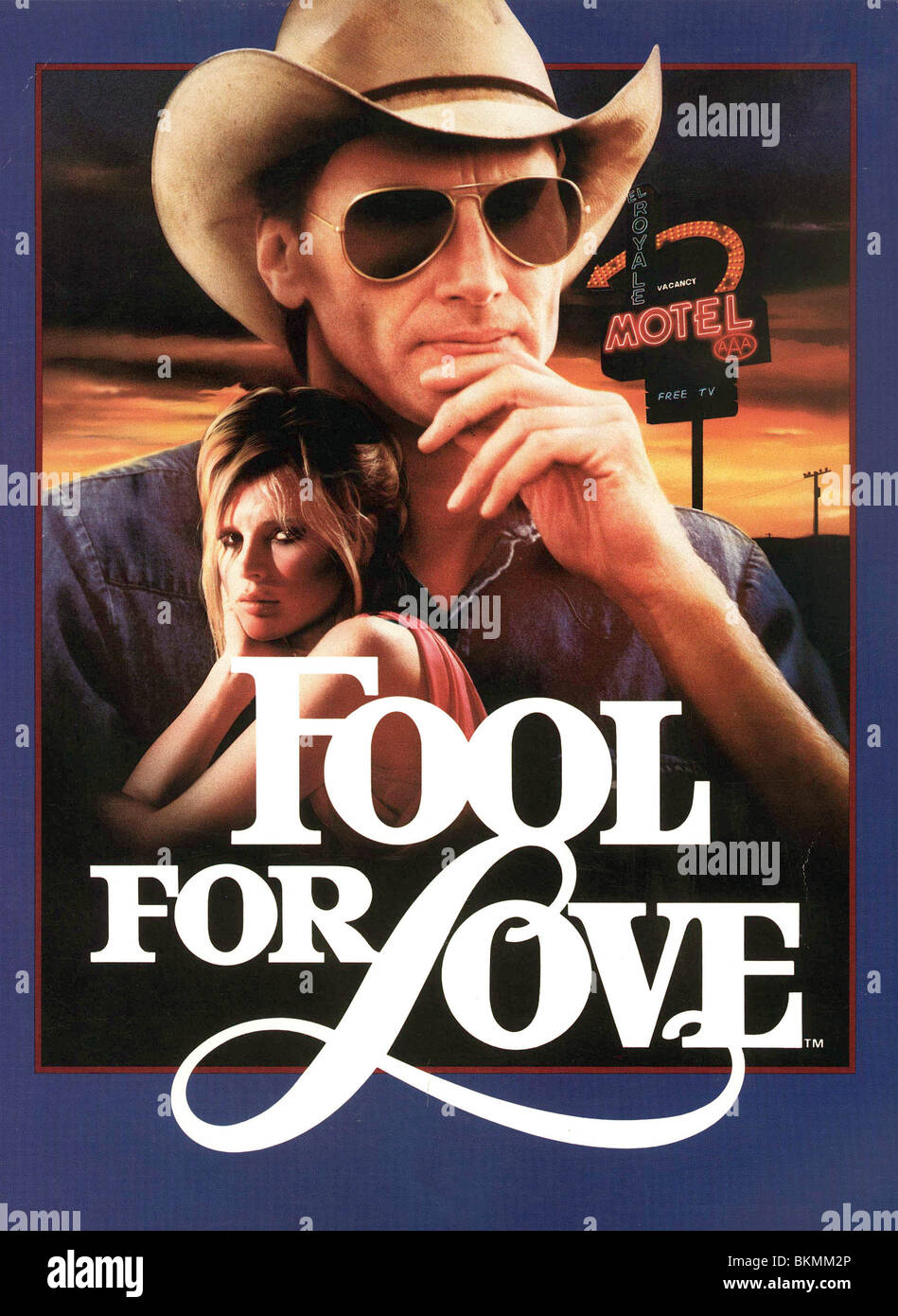FOOL FOR LOVE (1985) ROBERT ALTMAN (DIR) FFL 001 FOH