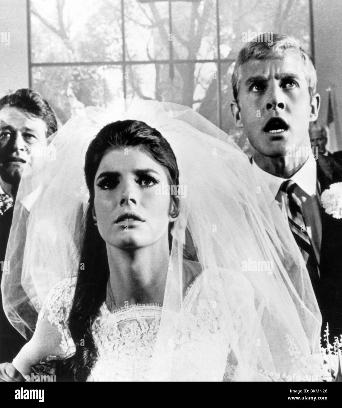 THE GRADUATE (1967) KATHARINE ROSS GRD 002P - Stock Image