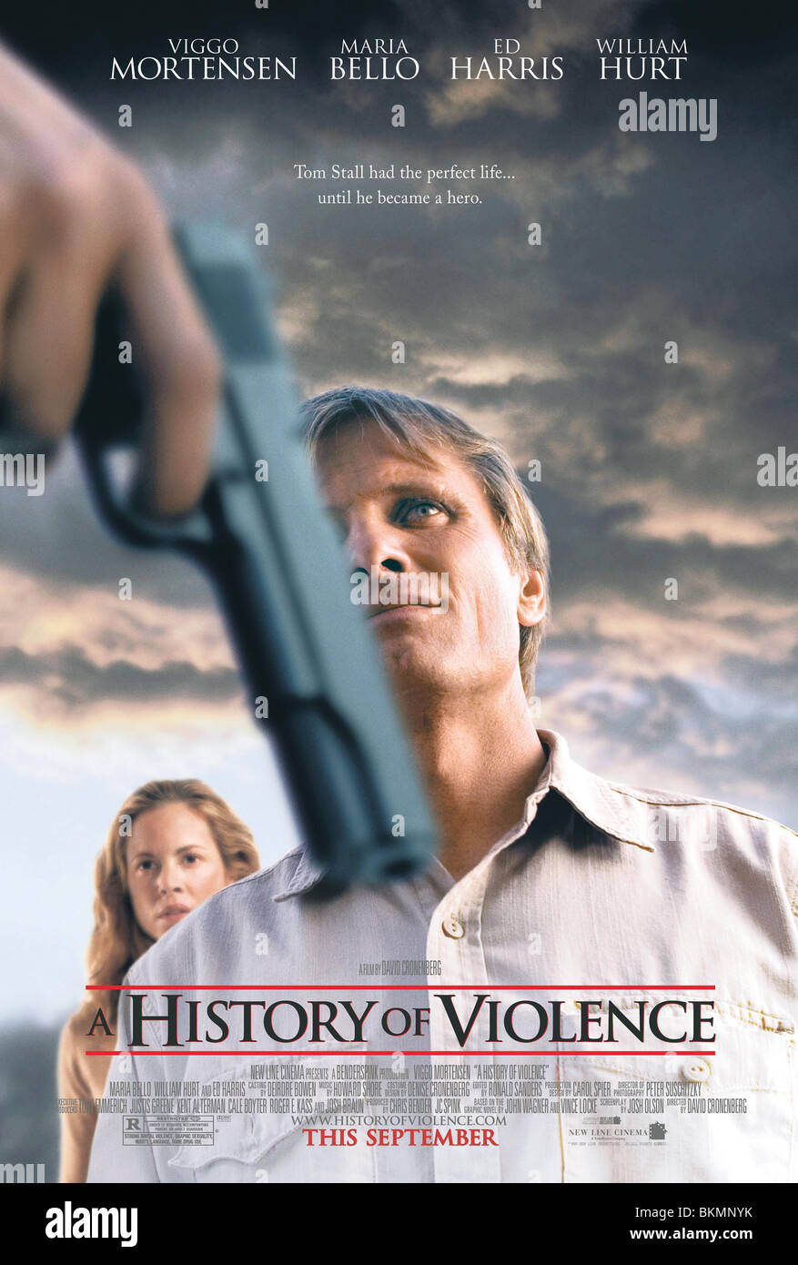 A HISTORY OF VIOLENCE (2005) POSTER HOFV 001-22 - Stock Image