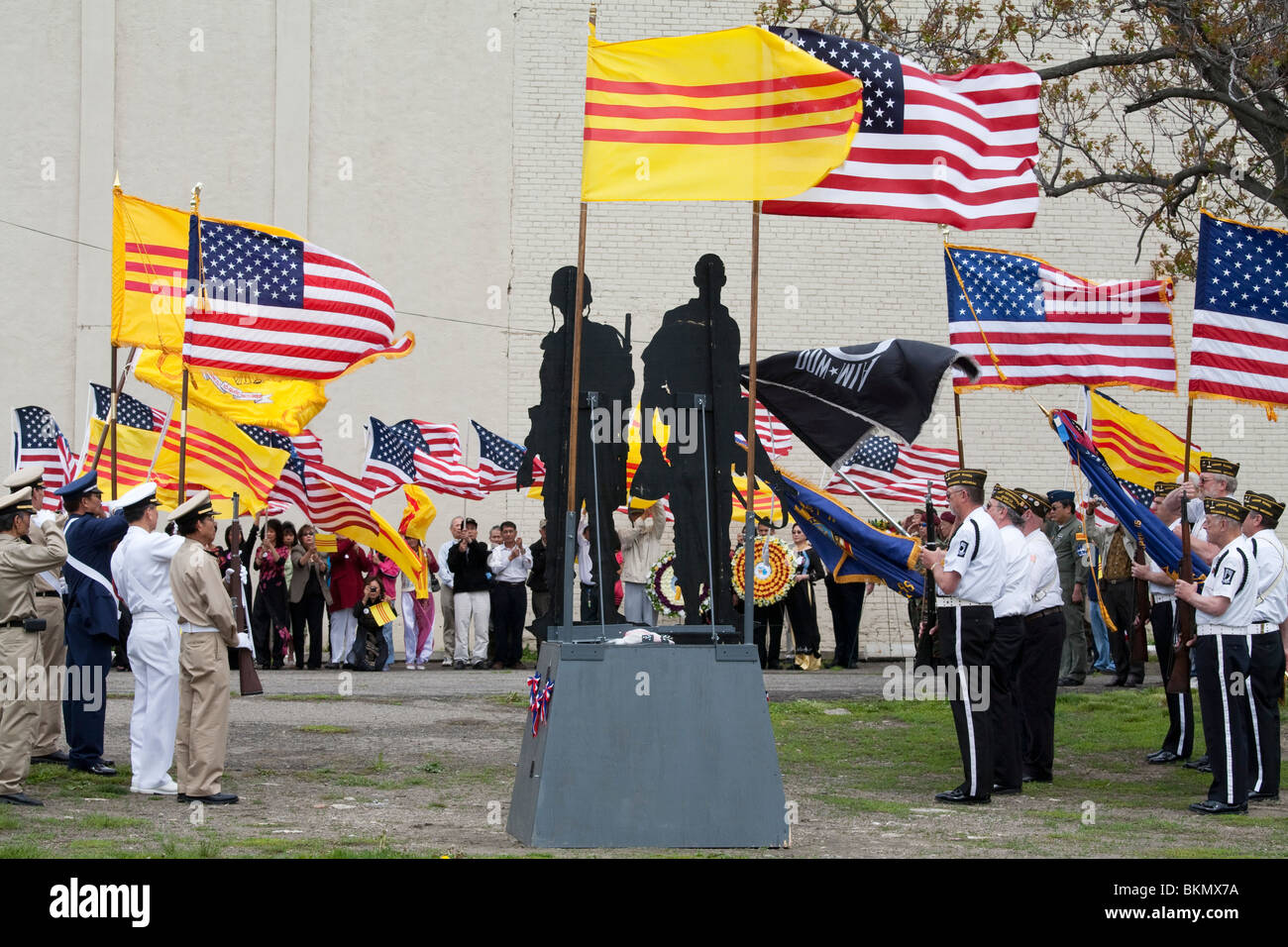 Vietnamese and Americans Mark 35th Anniversary of the Fall of Saigon - Stock Image