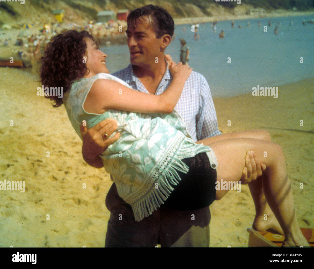 ON THE BEACH (1959) AVA GARDNER, GREGORY PECK OTBH 004 GN - Stock Image