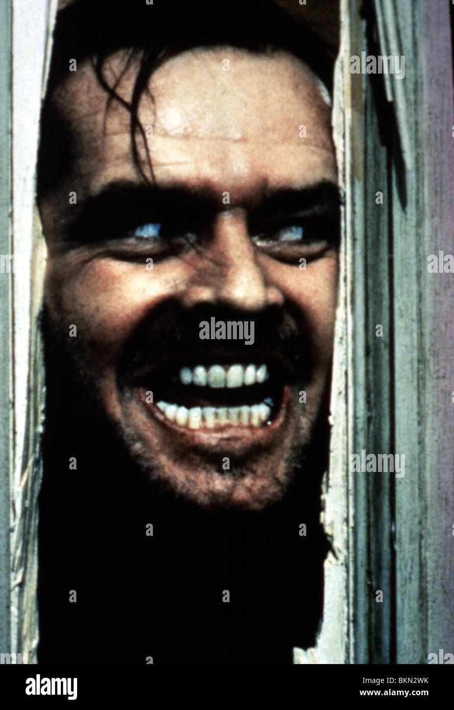 THE SHINING (1980) JACK NICHOLSON SHI 005 - Stock Image