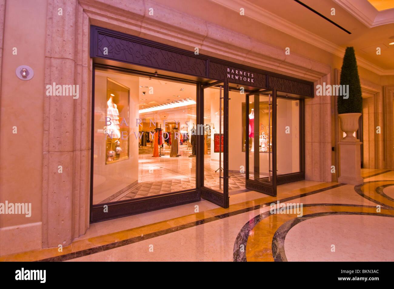 Luxurious boutiques Las Vegas - Stock Image