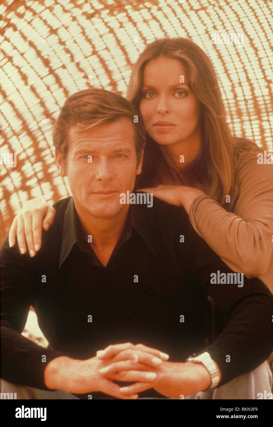 THE SPY WHO LOVED ME (1977) ROGER MOORE, BARBARA BACH CREDIT EON SLM 086 - Stock Image
