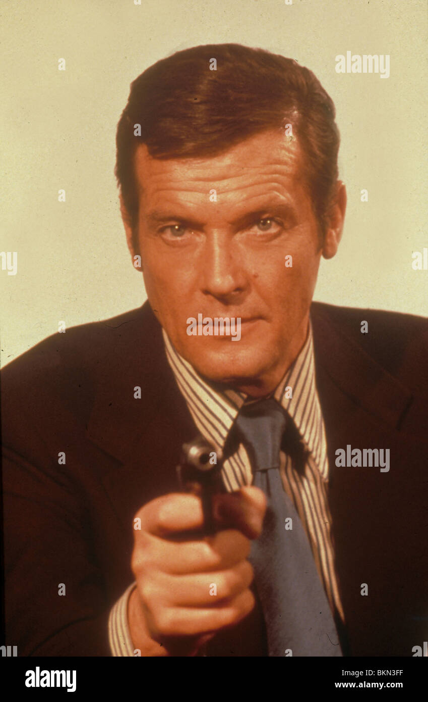 THE SPY WHO LOVED ME (1977) ROGER MOORE CREDIT EON SLM 087 - Stock Image