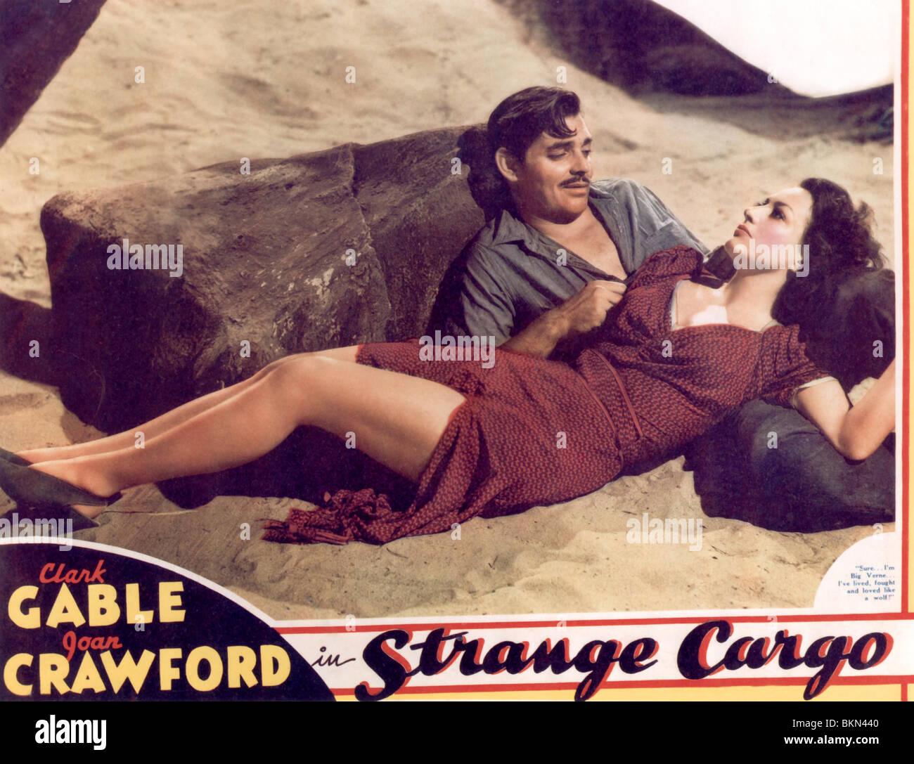 STRANGE CARGO (1940) POSTER SCGR 001POST - Stock Image