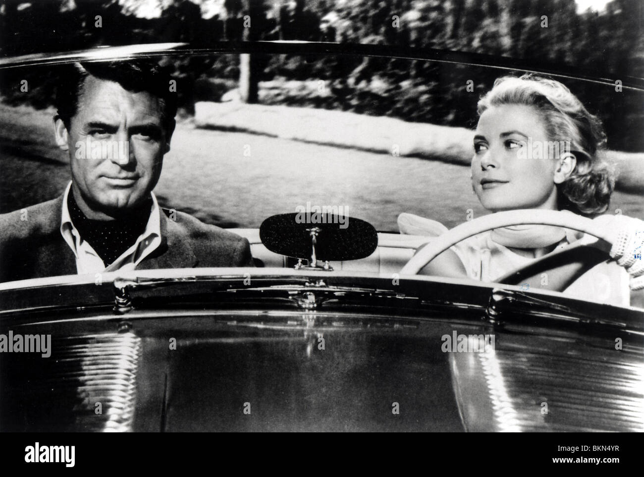 TO CATCH A THIEF (1955) CARY GRANT, GRACE KELLY TCT 004P - Stock Image