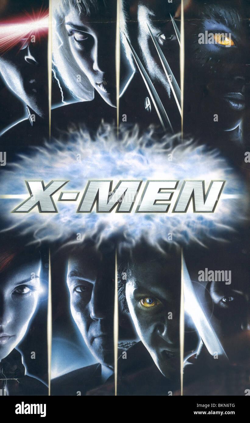 X Men 2000 Poster Stock Photo Alamy