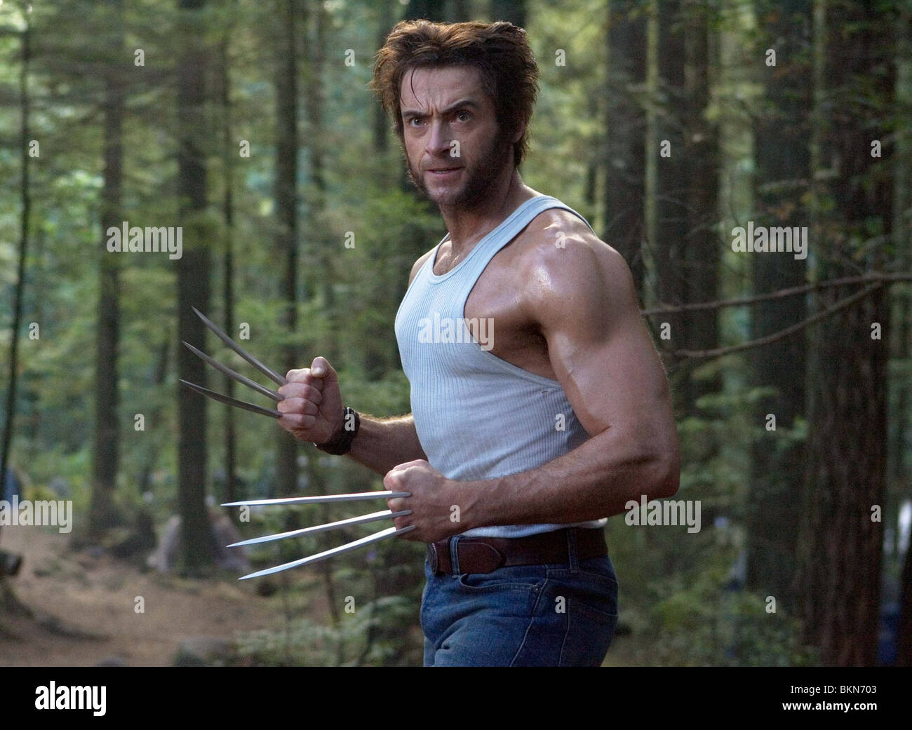 X-MEN: THE LAST STAND (2006) X3 (ALT) HUGH JACKMAN, WOLVERINE XLS 001-15 - Stock Image