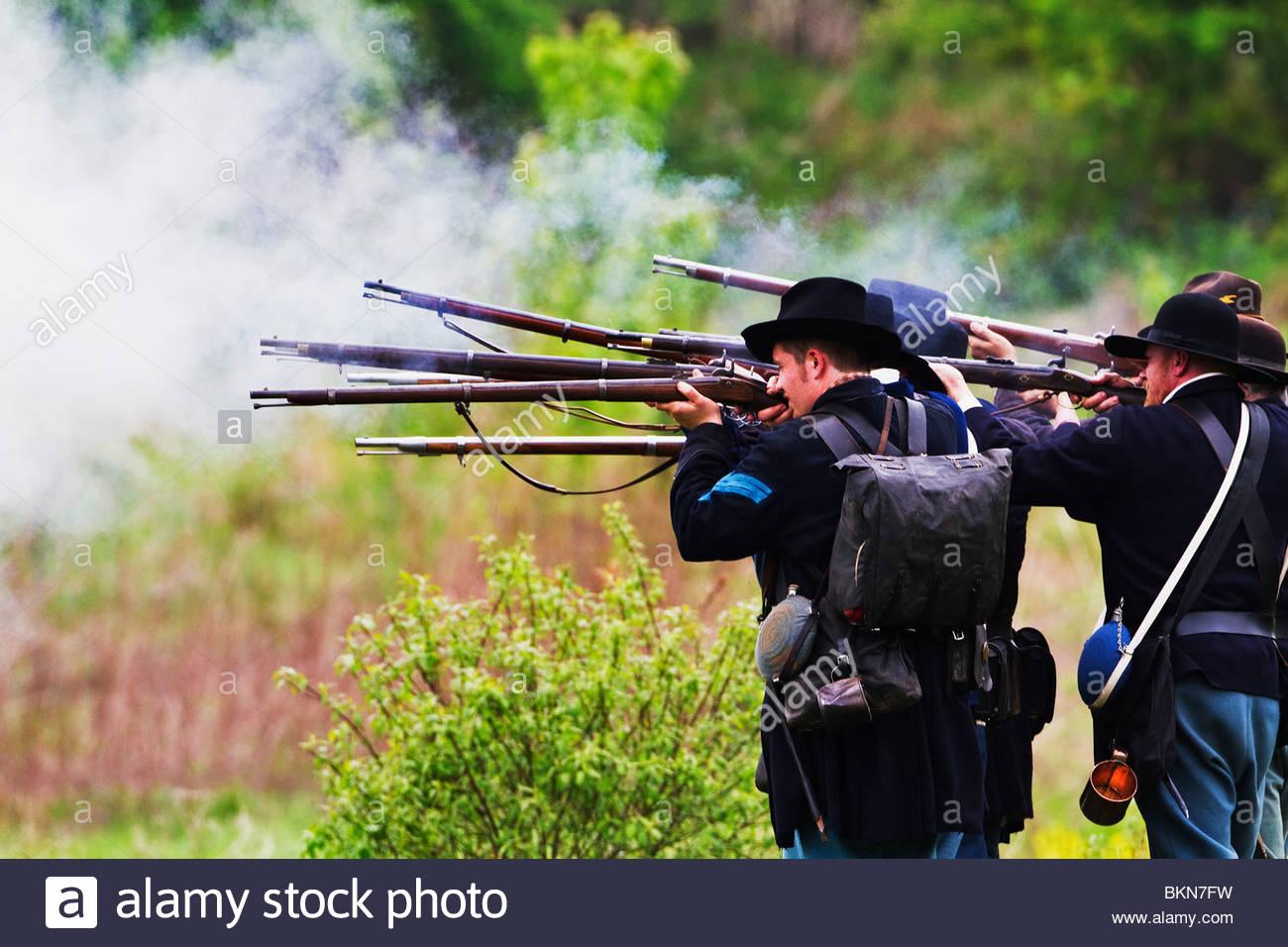 historical reenactments in indiana