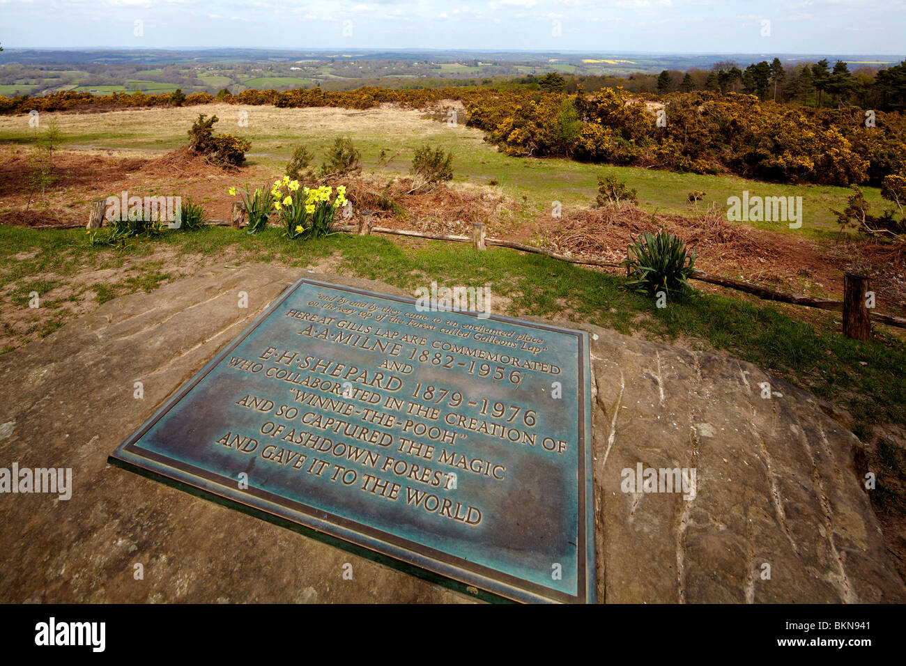 Memorial tablet to a a milne and e h shepard writer and illustrator memorial tablet to a a milne and e h shepard writer and illustrator of the winnie the pooh stories ashdown forest voltagebd Gallery