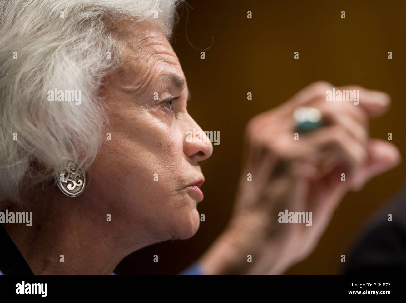 Retired Supreme Court Justice Sandra Day O'Connor - Stock Image