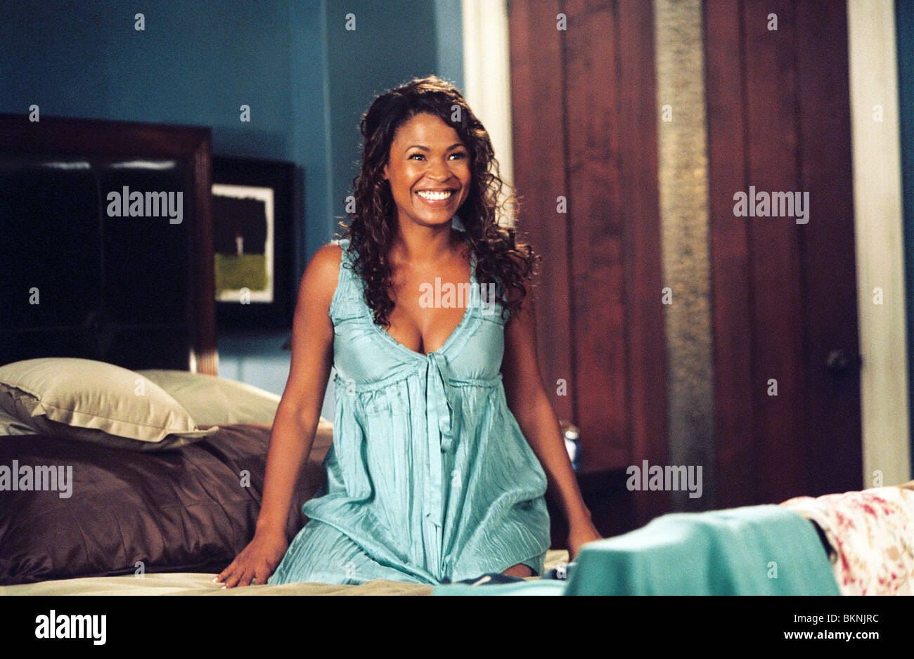 ARE WE DONE YET? (2007) NIA LONG DONE 001-07 - Stock Image