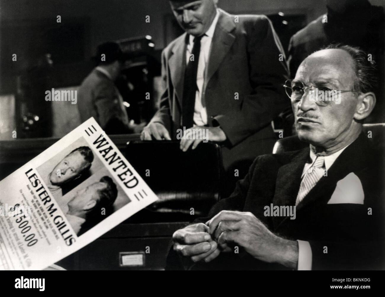 BABY FACE NELSON (1957) SIR CEDRIC HARDWICKE DON SIEGEL (DIR) BYFN 001FOH - Stock Image