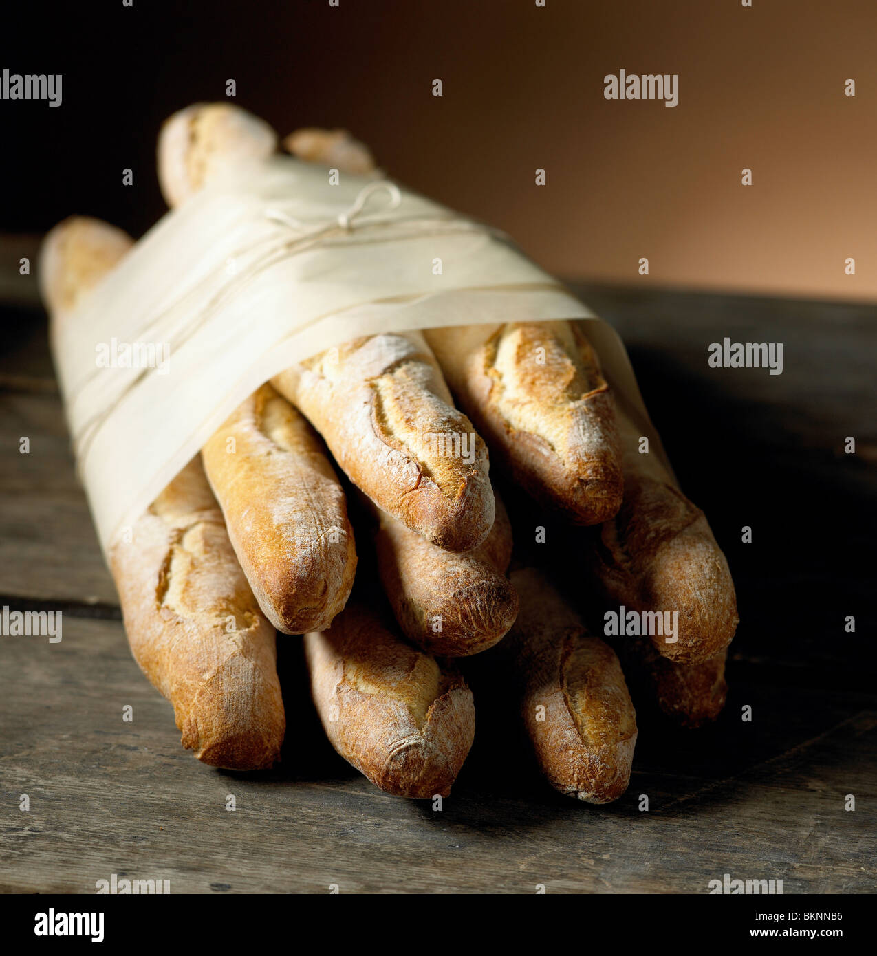 Fresh Baguettes - Stock Image
