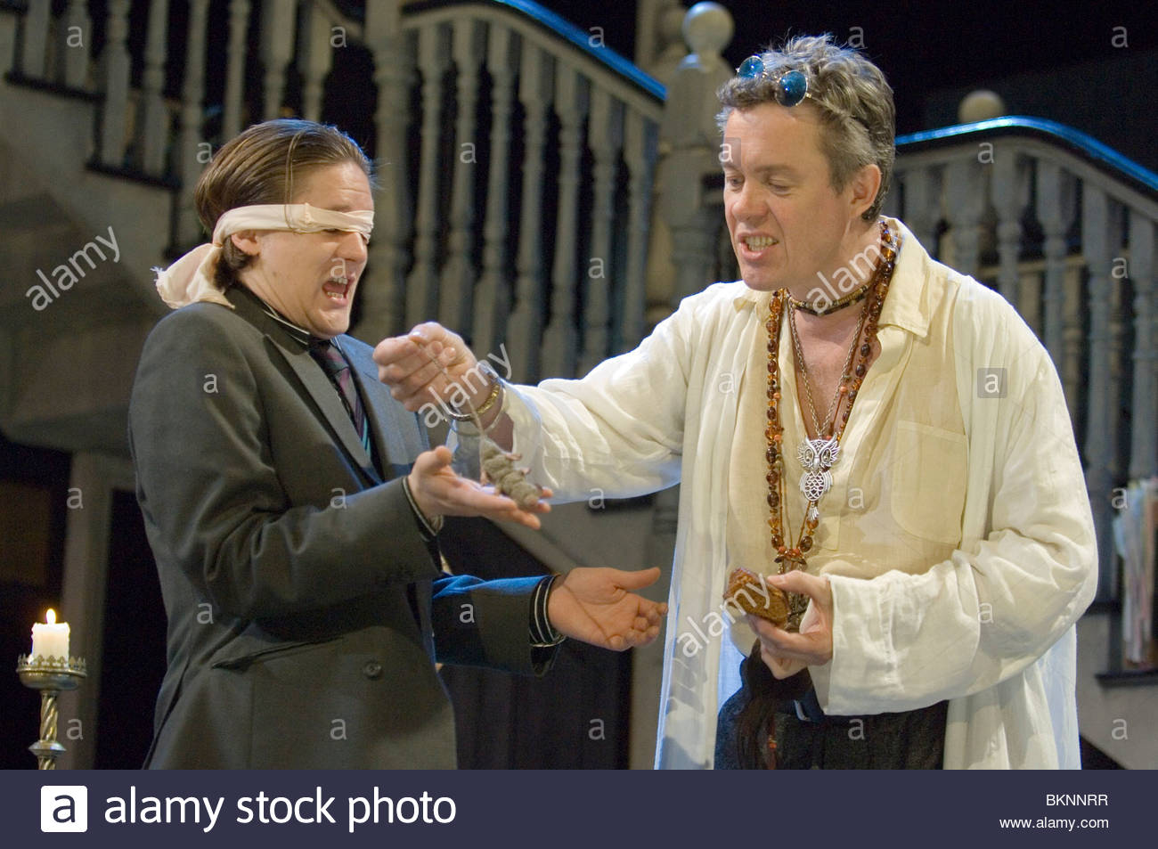 The Alchemist by Ben Johnson,directed by Nicholas Hytner. - Stock Image