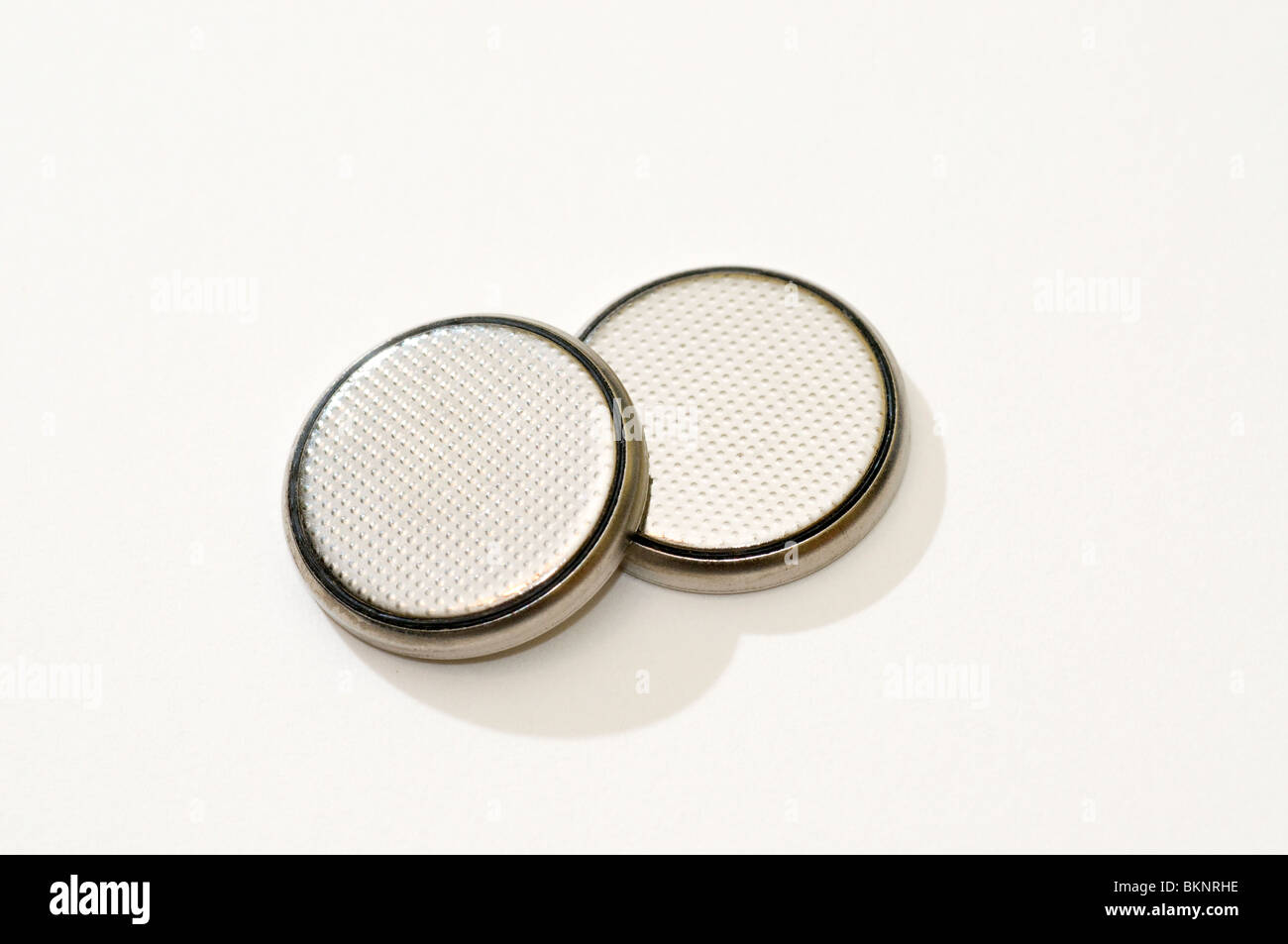 Coin batteries CR2032 - Stock Image