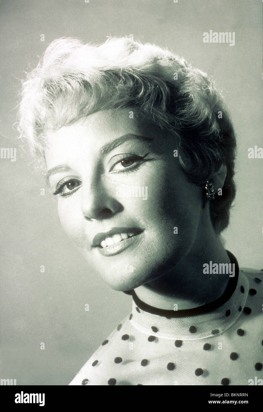 PETULA CLARK PORTRAIT Stock Photo
